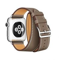 Ремешок для Apple Watch 38/40mm Hermes Double Tour Taupe, Цена: 929 грн, Фото