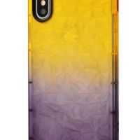 Чехол Gradient gelin case для iPhone X/Xs Yellow Black, Цена: 326 грн, Фото