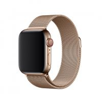 Браслет Apple Watch 38/40/42/44mm Milanese Loop (magnetic) New Gold, Цена: 481 грн, Фото
