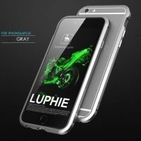 Бампер Luphie Ultra Luxury Grey for iPhone 6.6s, Цена: 360 грн, Фото