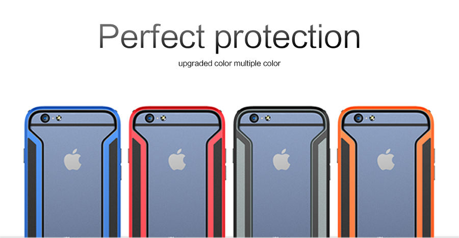 NILLKIN Slim Armor  Bumper for Apple iPhone 6 (все цвета) - Фото 2