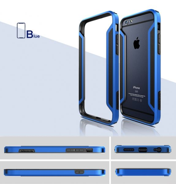 NILLKIN Slim Armor  Bumper for Apple iPhone 6 (все цвета) - Фото 7