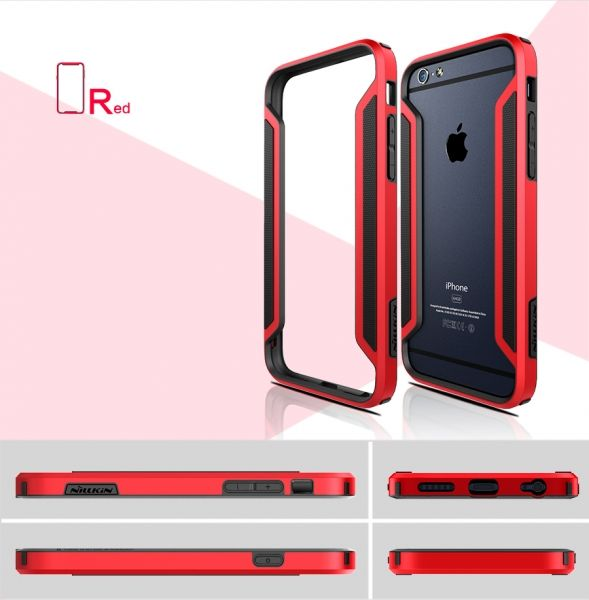 NILLKIN Slim Armor  Bumper for Apple iPhone 6 (все цвета) - Фото 4