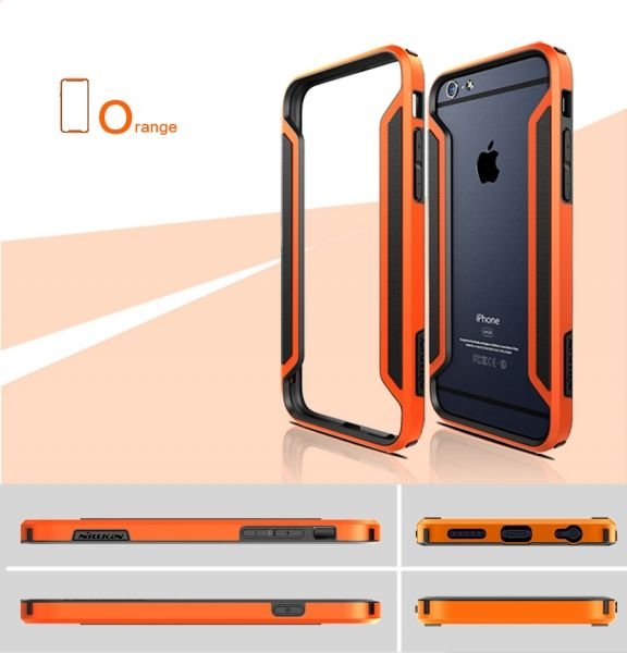 NILLKIN Slim Armor  Bumper for Apple iPhone 6 (все цвета) - Фото 5