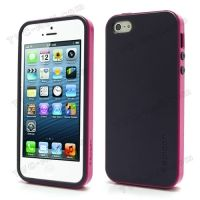 SPIGEN SGP Neo Premium TPU   PC Hybrid Cover Case for iPhone  4.4s.5 - Purple / Rose, Цена: 287 грн, Фото