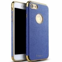 Чехол матовый iPaky Blue Full Cover For iPhone 7. 7 plus/ 8.8 plus, Цена: 377 грн, Фото