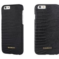 Кожаный чехол Bushbuck BARONAGE LIZARD Genuine Leather for iPhone 6 (Black), Цена: 548 грн, Фото