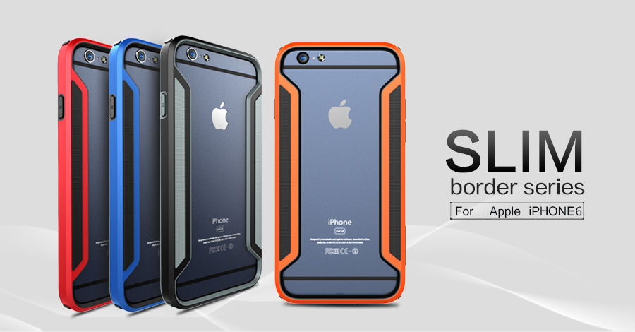 NILLKIN Slim Armor  Bumper for Apple iPhone 6 (все цвета) - Фото 1