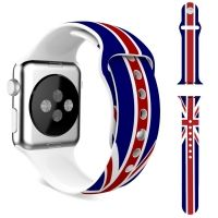 Ремешок Silicone British Flag for Apple Watch 38/40/42/44mm, Цена: 592 грн, Фото