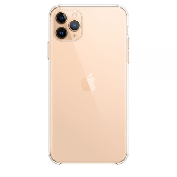 Чехол Silicone Case для iPhone 11 Pro Max Transparent - Фото 1