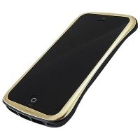Бампер draco elegance aluminum for iPhone 5.5s Gold/Black, Цена: 758 грн, Фото