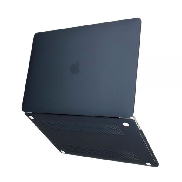 Чехол Crystal Case для Apple Macbook Air 11.6 / 13.3 and Pro 13 / 15 Черный - Фото 2