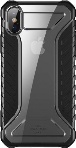 Чехол Baseus Michelin для Apple iPhone X/XS Black - Фото 2