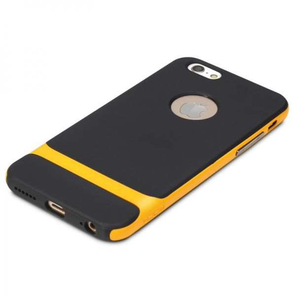 Чехол Rock Neo Hybrid Soft Case  with Bumper for iPhone 6 / iPhone 6 plus (yellow) - Фото 1