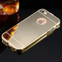 Чехол глянец Mirror Gold case for iPhone 5.5s, Цена: 336 грн, Фото