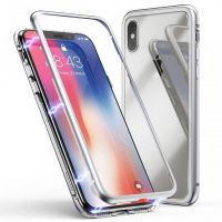 Чехол Magnetic Silver For iPhone X/XS/10, Цена: 502 грн, Фото