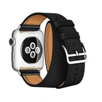 Ремешок для Apple Watch 38/40mm Hermes Double Tour Black, Цена: 929 грн, Фото
