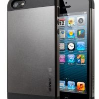SGP Case Slim Armor Metal Series Gunmetal for iPhone 5, Цена: 266 грн, Фото