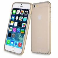 Чехол- бампер Baseus Fusion Case for iPhone 6. iPhone 6 plus Gold, Цена: 343 грн, Фото