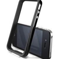 Бампер SGP Case Neo Hybrid 2S Vivid Series Soul Black for iPhone 4/4S, Цена: 286 грн, Фото