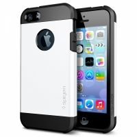 SGP SPIGEN Case Tough Armor Smooth White - Защитный чехол для iPhone 4.4s.5.5s, Цена: 304 грн, Фото