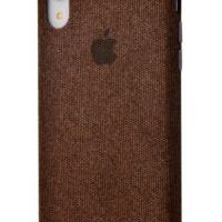 Чехол Textile cover 360 Protect iPhone Xr Brown, Цена: 502 грн, Фото
