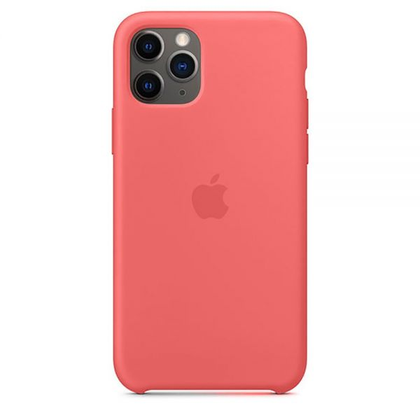 Силиконовый чехол Apple iPhone 11 Pro Max Silicone Case OEM Flamingo - Фото 1