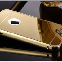 Чехол глянец Mirror Gold case for iPhone 4.4s, Цена: 326 грн, Фото