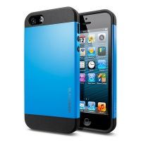 Чехол SGP Slim Armor Color Dodger Blue для iPhone 5, Цена: 255 грн, Фото