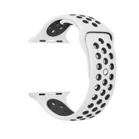 Ремешок Silicone with White/Black Nike for Apple Watch 38/40/42/44mm, Цена: 601 грн, Фото