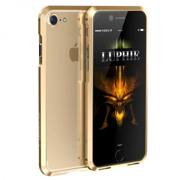 Бампер Luphie Ultra Luxury Gold for iPhone 7. 7 plus/ 8.8 plus - Фото 1