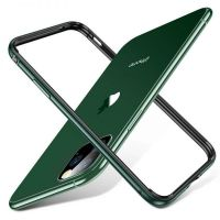 Бампер Silicone-Aluminium для iPhone 11 Pro - Midnight Green, Цена: 477 грн, Фото