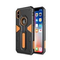 Чехол Nillkin Defender 4 Series Armor-border iPhone X/XS Orange, Цена: 628 грн, Фото