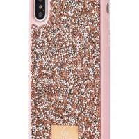 Чехол Bling World Grainy Diamonds (TPU) для iPhone Xs Max Rose Gold, Цена: 552 грн, Фото