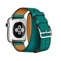 Ремешок для Apple Watch 38/40mm Hermes Double Tour Green, Цена: 929 грн, Фото
