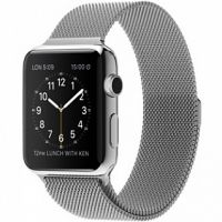 Ремешок Apple Watch 38/40/42/44mm with Milanese Loop (magnetic) Silver, Цена: 481 грн, Фото