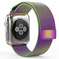 Ремешок Apple Watch 38/40/42/44mm with Milanese Loop (magnetic) Colorful, Цена: 481 грн, Фото