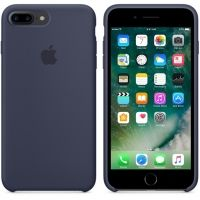 Силиконовый чехол Apple Silicone Case Midnight Blue для iPhone 7 plus, Цена: 481 грн, Фото