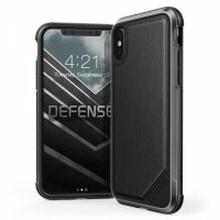 Чехол X-Doria Defense Lux iPhone X/XS  - Leather Black, Цена: 961 грн, Фото