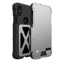 Чехол R-just Flip Armor King для iPhone X/XS Silver, Цена: 601 грн, Фото