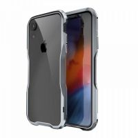 Бампер Luphie Ultra Luxury для iPhone XR Silver Grey, Цена: 653 грн, Фото