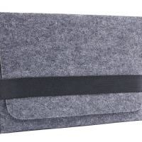 Чехол из войлока Gmakin для Macbook air 13.3. pro 13/15 Wool Felt Grey, Цена: 427 грн, Фото