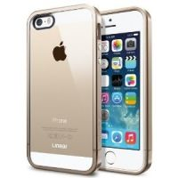 Чехол SGP Case Linear Metal Crystal Series Metal Gold for iPhone 5/5s, Цена: 318 грн, Фото