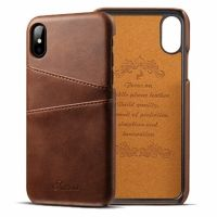 Чехол Juteni Dark Brown для iPhone X/XS, Цена: 502 грн, Фото