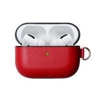 Чехол Leather Red for Apple AirPods Pro, Цена: 433 грн, Фото