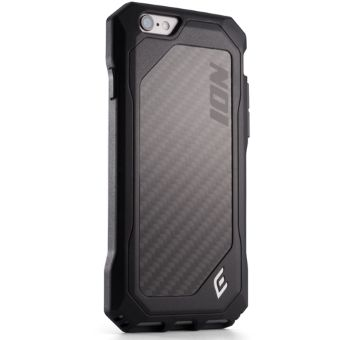 Element Case ION 6 Black w/Carbon Fiber (EMT-0001) for iPhone 6.6s. 6 plus - Фото 1