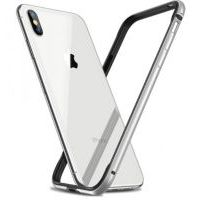 Бампер Silicone-Aluminium для iPhone X/Xs White, Цена: 433 грн, Фото