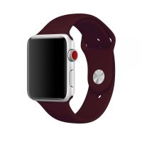 Ремешок Silicone Band for Apple Watch 38/40/42/44mm Dull Red, Цена: 433 грн, Фото