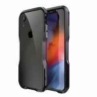 Бампер Luphie Ultra Luxury для iPhone XR Black Purple, Цена: 653 грн, Фото