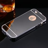 Чехол глянец Mirror Black case for iPhone 5.5s, Цена: 336 грн, Фото